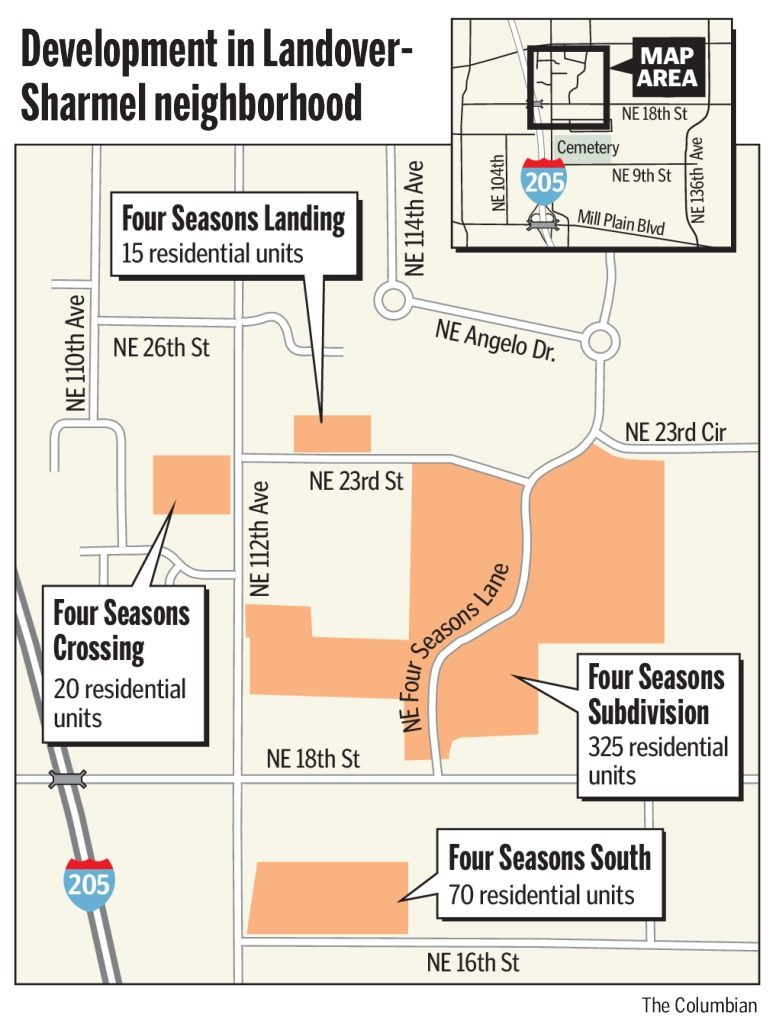 four seasons development in vancouver wa